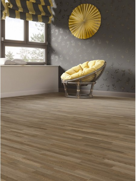 Паркетная доска BALTIC WOOD SEVEN-4 HER Дуб Villa Taupe&Taupe